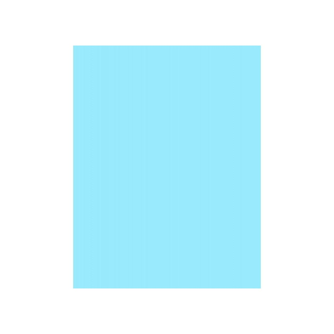 50 Hojas De Color Azul Tamaño Carta Madi E Commerce